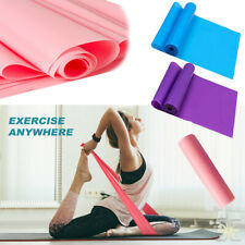 5 Feet Yoga Stretch Resistance Bands Exercise Pilates Aerobic GYM Home Workout