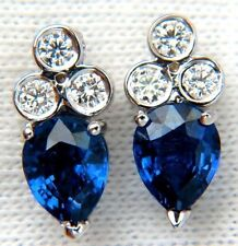 Butterfly Stud Sapphire Fine Earrings