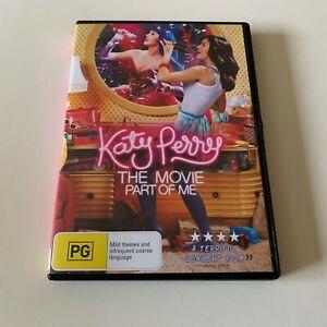 Katy Perry - Part of Me DVD Region 4