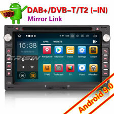 DAB+Android 9.0 Car Stereo GPS For VW Golf Passat Polo T5 Multivan Jetta Peugeot