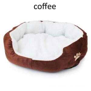 Dog Cat Bed Soft Plush Pet Cushion Improved Sleep for Cats Small Medium Dogs