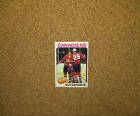 1975-76 Topps Hockey #198 Guy Lapointe w/ Ken Dryden (Montreal Canadiens)