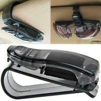 Black Car Auto Sun Visor Glasses Sunglasses Card Ticket Holder Clip Univers J9M9