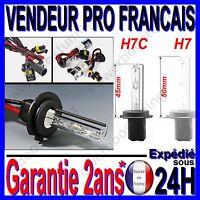2AMPOULE LAMPE FEU PHARE DE RECHANGE POUR KIT XENON HID H7C COURTE 6000k 35W 12V
