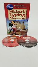 Disney Mickey's Typing Adventure (PC/WIN Game CD-ROM, 2019) 2 Set Discs Only