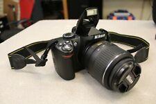 Nikon D3000 Digital SLR Camera with 18-55mm f/3.5-5.6G AF-S DX VR Nikkor Lens