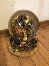 Large Musical Water Snow Globe Revolving Base Christmas Nativity Scene