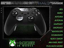Xbox one elite rapid fire controller-toute couleur led-cod-champ de bataille-mod
