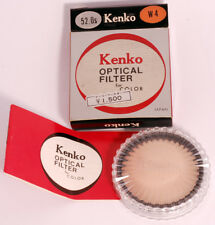 Kenko 52mm LBW4 UV Glass Filter with Case/Box/Instructions. Near Mint Condition