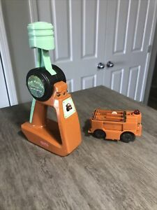 GeoTrax Disney Pixar Cars Tow Mater Remote Control Works 2008 Fisher Price
