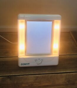 Vintage Conair Makeup Mirror Adjustable Light Swivel Mirror Day Office Home Eve