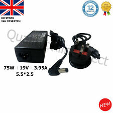 19V 3.95A 5.5*2.5mm 75W TOSHIBA LAPTOP CHARGER AC ADAPTER R33030 N193 V85 N17908