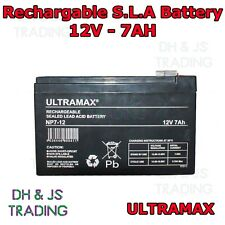 Ultra Max 12V 7AH Battery Alarm Security Response Solar Alarm & Bell