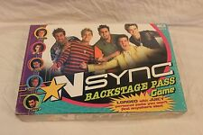 2000 NSync Backstage Pass Game from Patch -Justin Timberlake - NEW in plastic