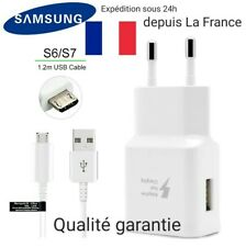 Samsung TA20 Chargeur pour Galaxy S6 Charge Rapide AFC 2 A avec Câble micro...
