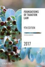 Foundations of Taxation Law 2017 (9th Ed.)  by Barkoczy, Stephen