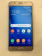 Smartphone Cellulare Samsung Galaxy J7 2016 SM-J710FN Oro