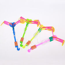 Safety Luminous 5pcs Large Slingshot Catapult Arrows LED Blue Light Children Toy