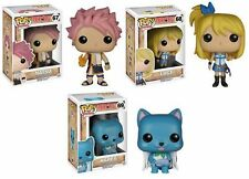 In-Hand New Funko POP! Animation Anime Fairy Tail Set of 3 Vinyl Figures