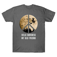 Hello Darkness My Old Friend Witches Awesome Hallween Gifts Tee Men's T-Shirt