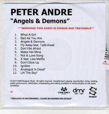 (DN197) Peter Andre, Angels & Demons - 2012 DJ CD