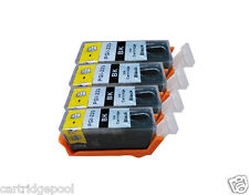 4 refillable Balck ink cartridge for Canon PGI-225 PIXMA MG5120 MG5220 MG5320