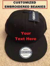 Customized / Personalized  Snapback Baseball Cap High Quality Embroidery Colors