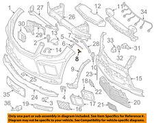 MERCEDES OEM 13-16 GL550-Bumper Trim-Reflector Left 1668200374