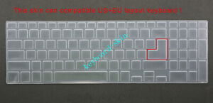 Keyboard Skin Cover for Dell Inspiron 17-5000 5748 5749 5758 5759 5755 5570 5575