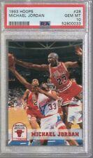 1993/94 Hoops Michael Jordan #28 PSA 10