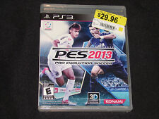 Pro Evolution Soccer 2013 (Sony PlayStation 3, 2012) New Factory Sealed