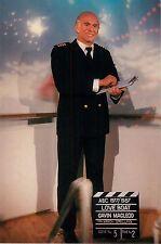 "Gavin Macleod Love Boat 1977 1987 4x6"" Postcard Movieland Wax Museum"