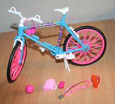 Bicicleta Vintage Barbie Y Accesorios