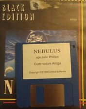 Nebulus (Hewson, 1988) (Amiga Disquette, box) 100% OK (Classic-game)