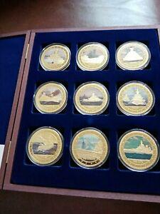 Windsor Mint The Most Famous Battleships Commemorative Strike Set