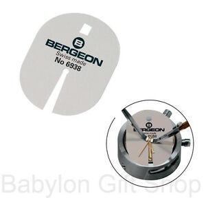 BERGEON 6938 Watch Dial Protector SWISS MADE Protection Pad for Hand Removal UK