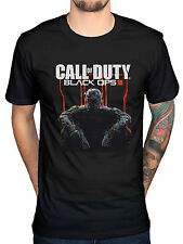 Official Call Of Duty Black Ops Cover Art T-Shirt  Modern Warfare Ghosts Xbox