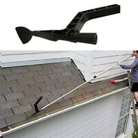 Gutter Tool Scoop Skylights Roof Cleaning for Hole Home Garden silt Debris Clean