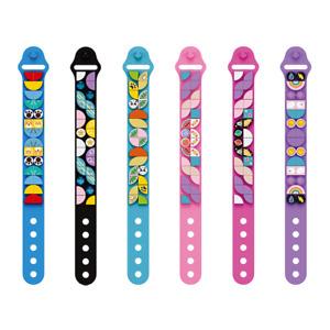 Girl DIY Bracelet Wrist Strap Kid Wristlet Boy Band Toy Brick Bangle - 6 Pieces