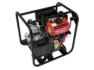 "3"" Electric Start Diesel Water Pump New"