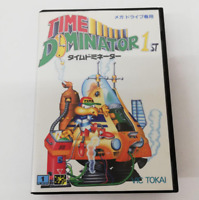 Time Dominator 1st Mega Drive MD Genesis Vic Tokai Used Japan Boxed Tested 1993
