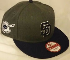 NWT NEW ERA San Diego PADRES SD 9FIFTY SNAPBACK adjustable mlb cap baseball hat