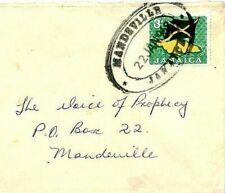 CS60 Jamaica Superb 1968 *Mandeville* TRD In BLACK Cover FLAG {samwells-covers}
