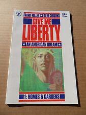 Give Me Liberty 1of4.1st App. M . Washington .Miller / Gibbons- Dark Horse .1990