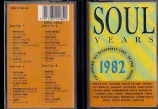VARIOUS - SOUL YEARS 1982 - 2  Musicassetta Cassette Tape MC K7 NEW Never Played