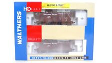 Walthers RTR Gold HO SP Southern Pacific C-30-1 Wood Caboose Car 2Pack 932-27607