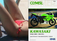 1988-2012 Kawasaki Ninja 250 250R CLYMER REPAIR MANUAL M241