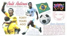 COVERSCAPE computer designed 40th anniversary of Pelé retirement event cover