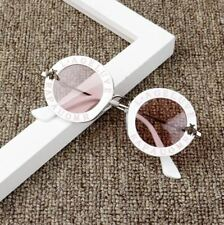 New Infant Kids Baby Girls Boys Fashion Sunglasses Letter Solid Hot Beach protec