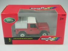 42732 Britains 1/32 Land Rover SWB 90 Defender pickup Canopy CON BOX 515686